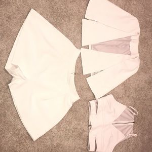 Tops - Pale pink brand new set !  XS!
